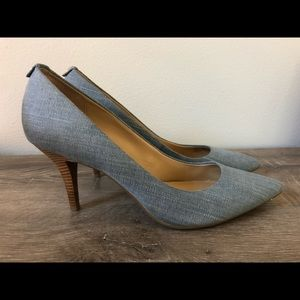 Michael Kors Chambray Pumps/Heels